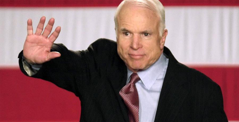 Sen. McCain Believes Rand Paul Is Working For Putin (Video)