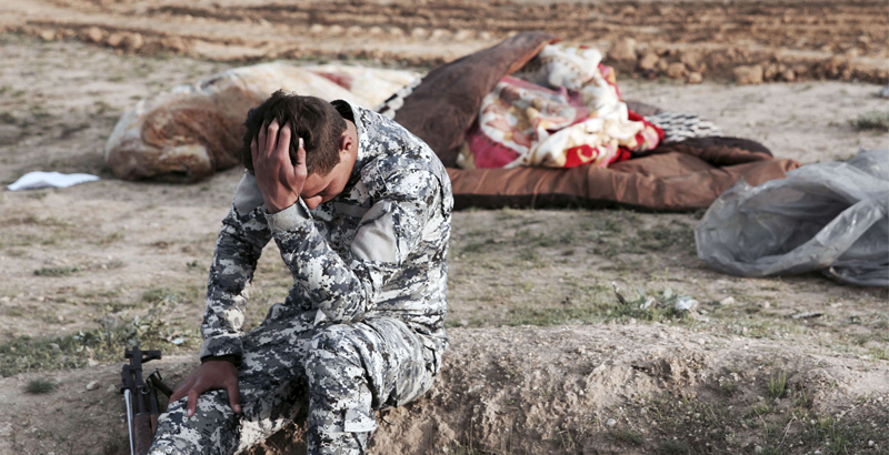 Mass Burial of Civilian Victims of US-Led Coalition's Airstrikes Discovered in Mosul