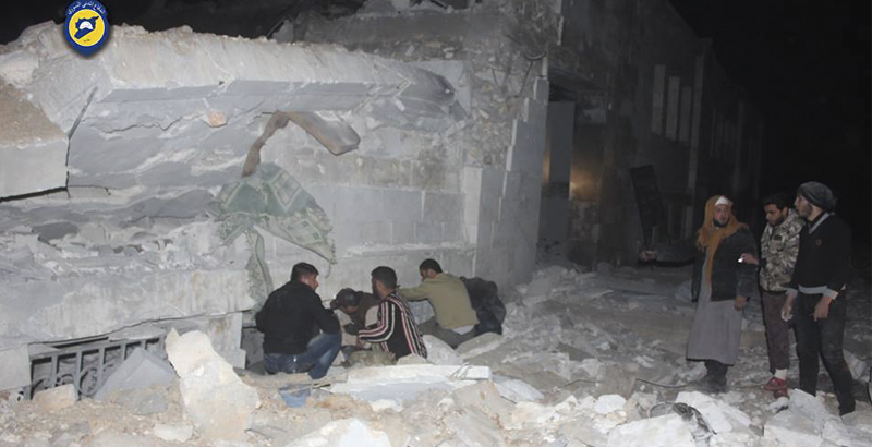 US Admits Strike on 'Al-Qaeda Meeting' in Idlib amid Reports on Deadly Mosque Attack Nearby