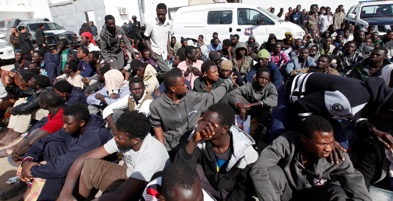22 Migrants Killed, 100 Wounded in Fighting between Rival Smuggler Gangs in Libya