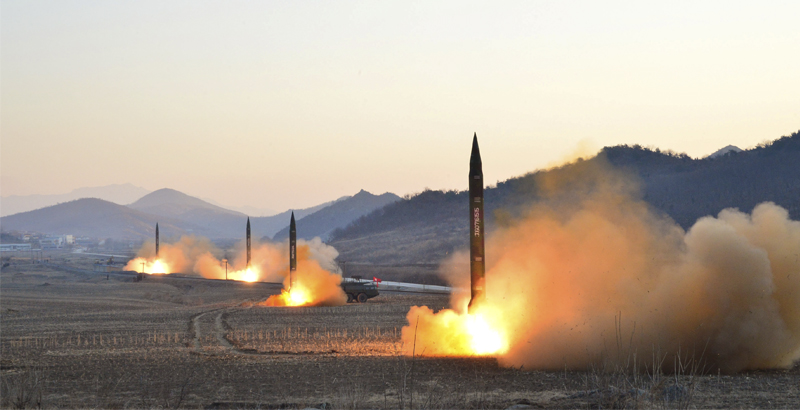 North Korea Conducts another Missile Test amid Raising Tensions with US