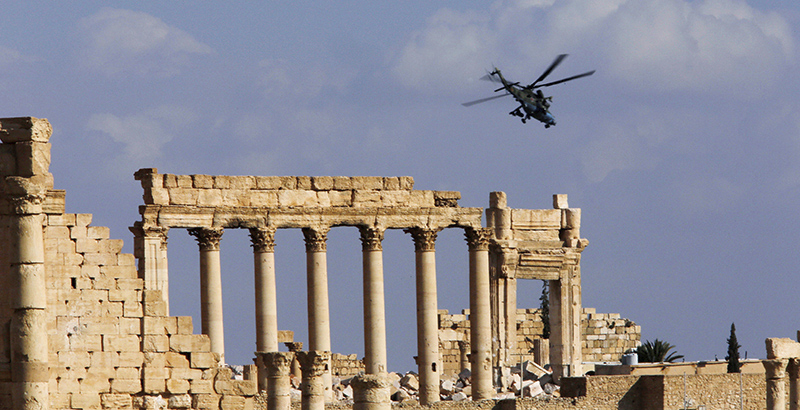 More Details about Second Liberation of Palmyra Revealed