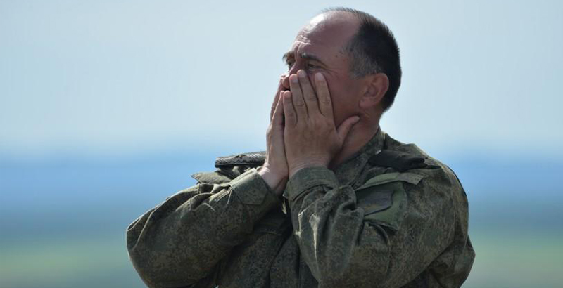 Russian Major General Seriously Wounded in Battle for Syrian Palmyra