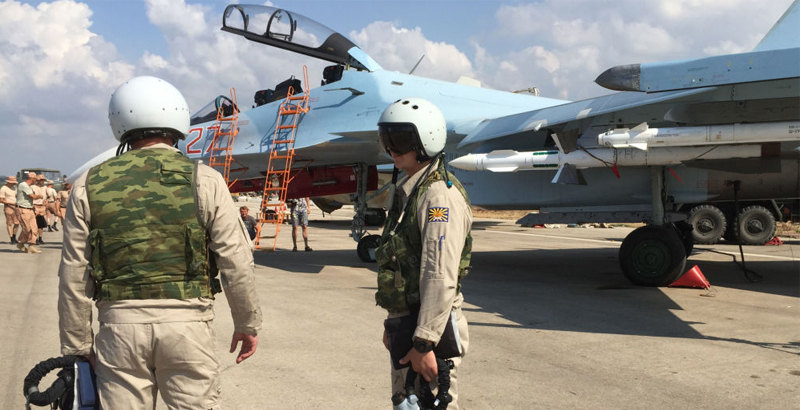 Russian Aerospace Forces Eliminate 2,306 ISIS Facilities in Syria for Month