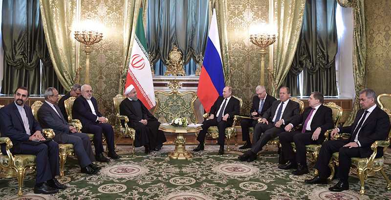 Russia & Iran Sign 16 Cooperation Documents