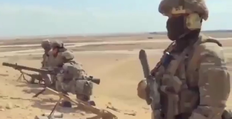 Fresh Video of Russian Special Forces Operating in Palmyra