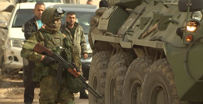 Syrian Special Forces Trained by Russian Military Advisers Ready to Fight against ISIS in Homs