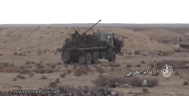 Syrian Military Turn KamAZ Truck into Self-Propelled Gun (Video)