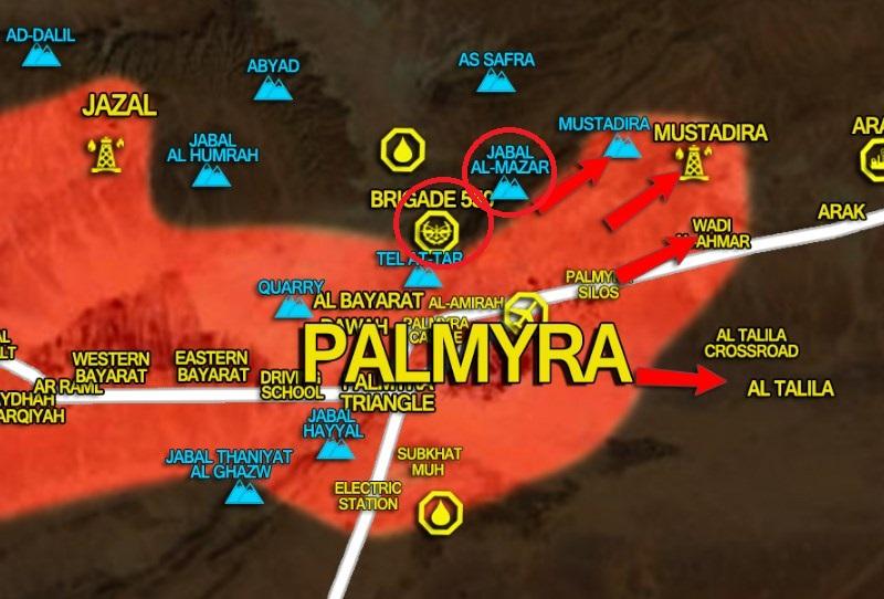 Syrian Army Retakes Al-Mazar Mountain North Of Palmyra