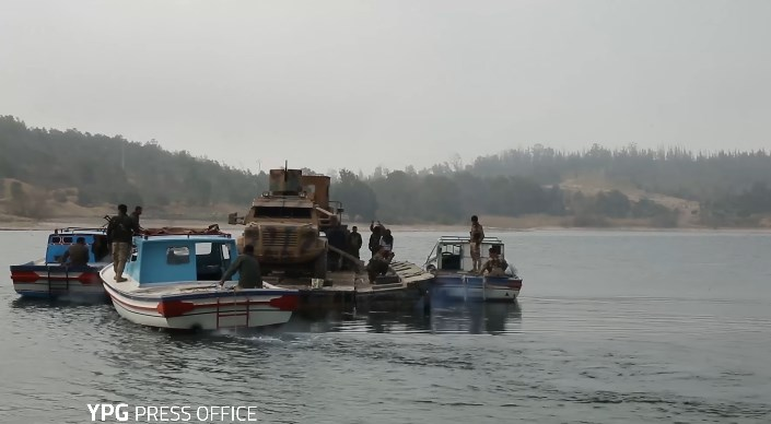 YPG Released Video Of US-backed Cross-River Operation To Capture Tabqah Dam