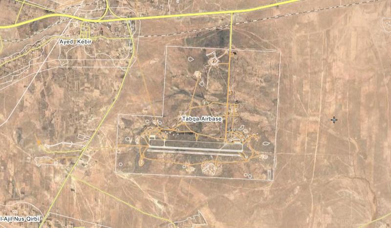 SDF Entered Strategic Tabqa Air Base West Of Raqqah