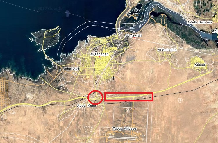 SDF Units Capture Importnant Road Near ISIS-controlled Town Of Tabqa In Raqqah Province