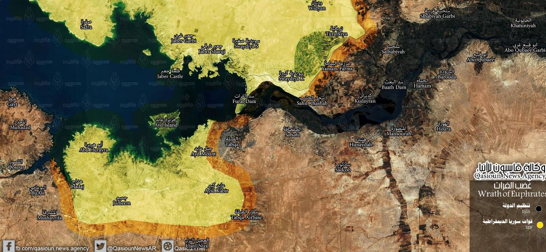 US-backed Forces Capture Karama Village East of Raqqa, Deploy Closer To Tabqa Military Airport