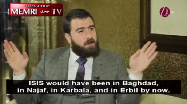 Christian Iraqi Militia Leader: If Not For Iran, ISIS Would Be in Baghdad by Now (Video)