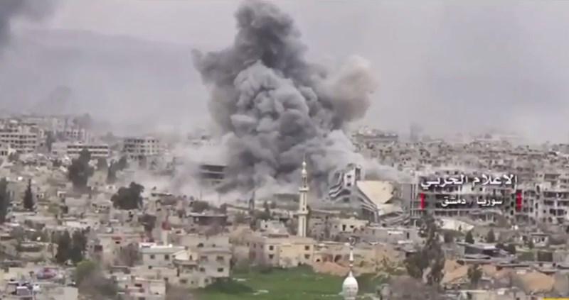 Second Phase Of Jihadists' AdvanceIn Eastern Damasucs Lost Momentum