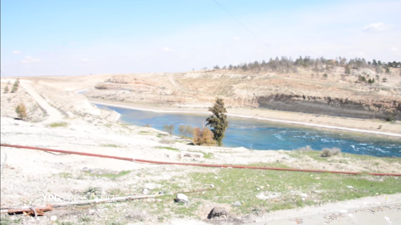YPG Released First Video From Tabqa Dam Area In Raqqah Province