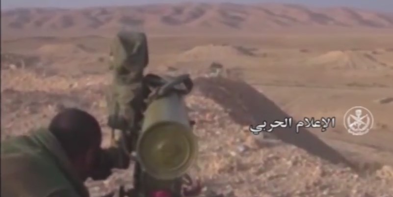 Syrian Amry Liberates Strategic Heights In Palmyra Countryside