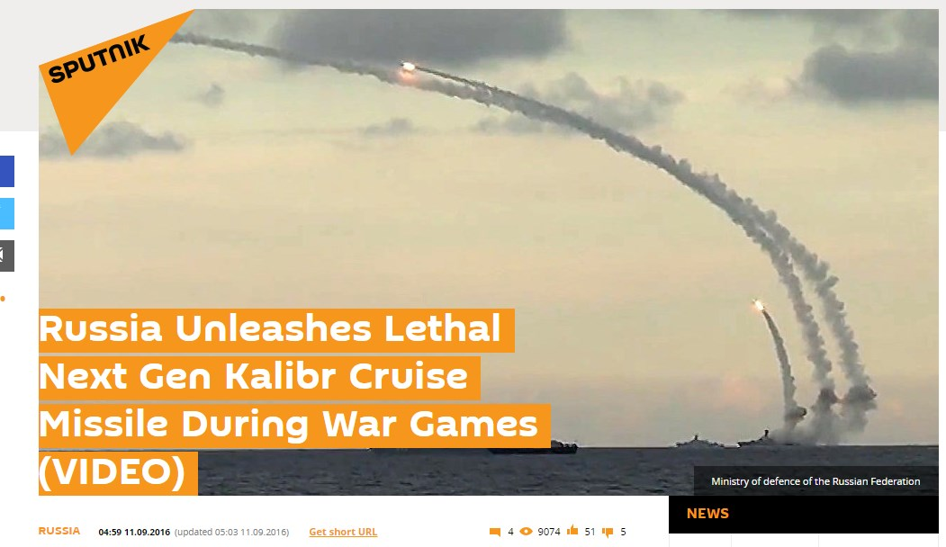FAKE NEWS: Russian Warships In Tartus Launch Missiles Against Terrorist Targets In Syria
