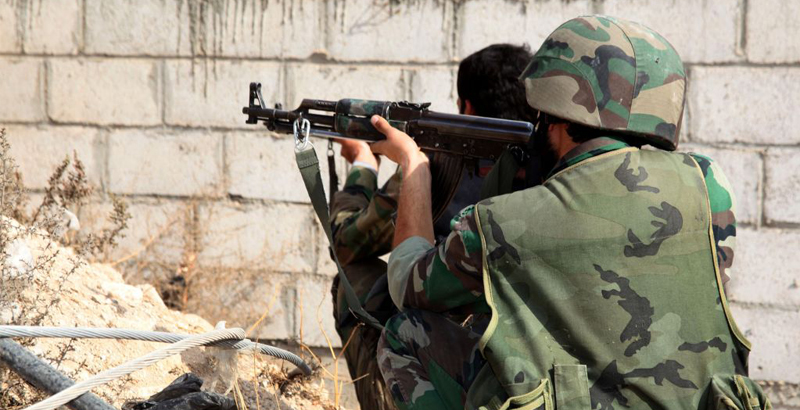 Syrian Troops Prevent Terrorists' Attack on Army's Positions in Hama