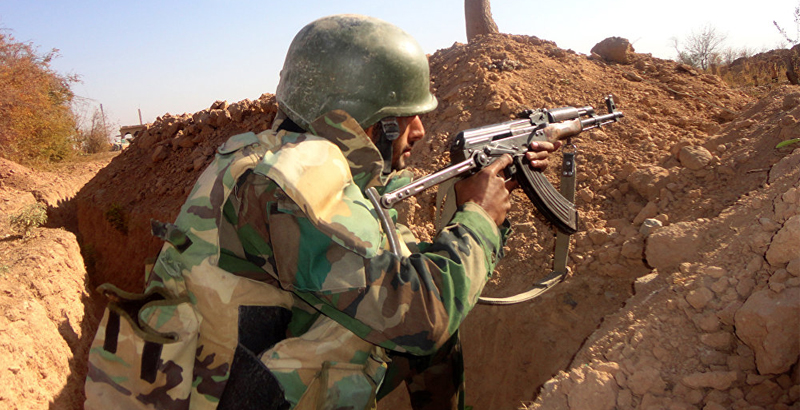 Syrian Army & Air Force Strike ISIS Positions in Deir ez-Zor
