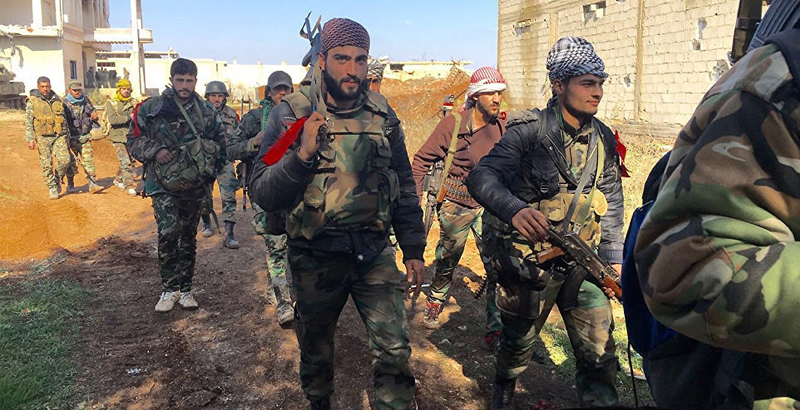 Syrian Army Liberates Part of Al-Manshia District in Daraa