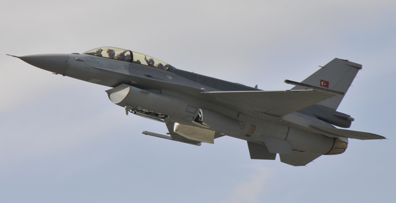 Turkish Air Force Strikes Facilities of PKK Militants in Iraq