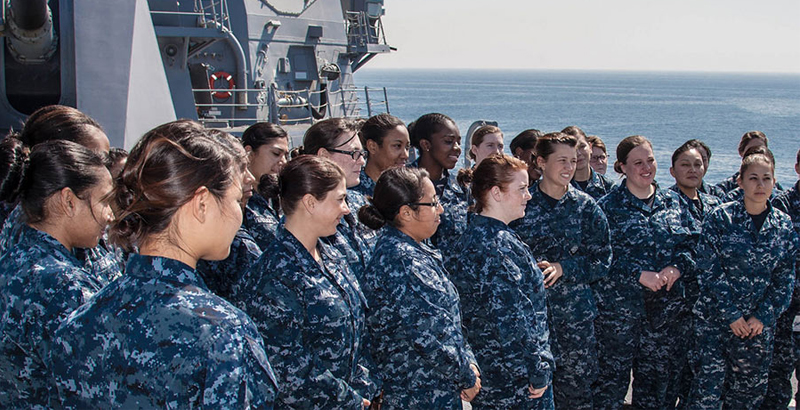 Female Mariners Massively Leave US Navy during Combat Duty Because Of Pregnancy