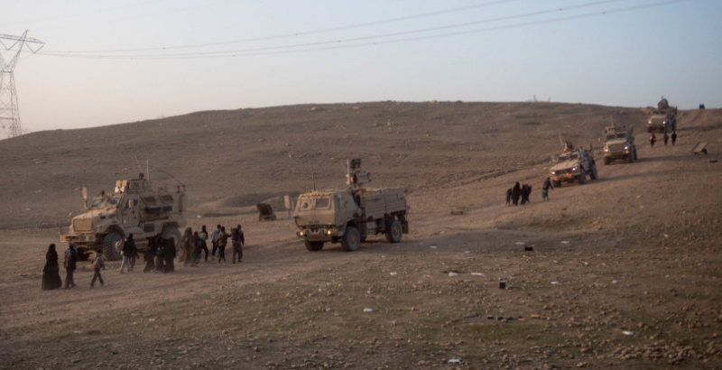 US Troops Use Anti-UAV Defense System to Combat ISIS Drones in Mosul