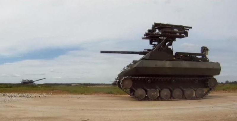 Newest Russian Uran-9 Robotic Warfare System Spotted in Syria... Or Not?