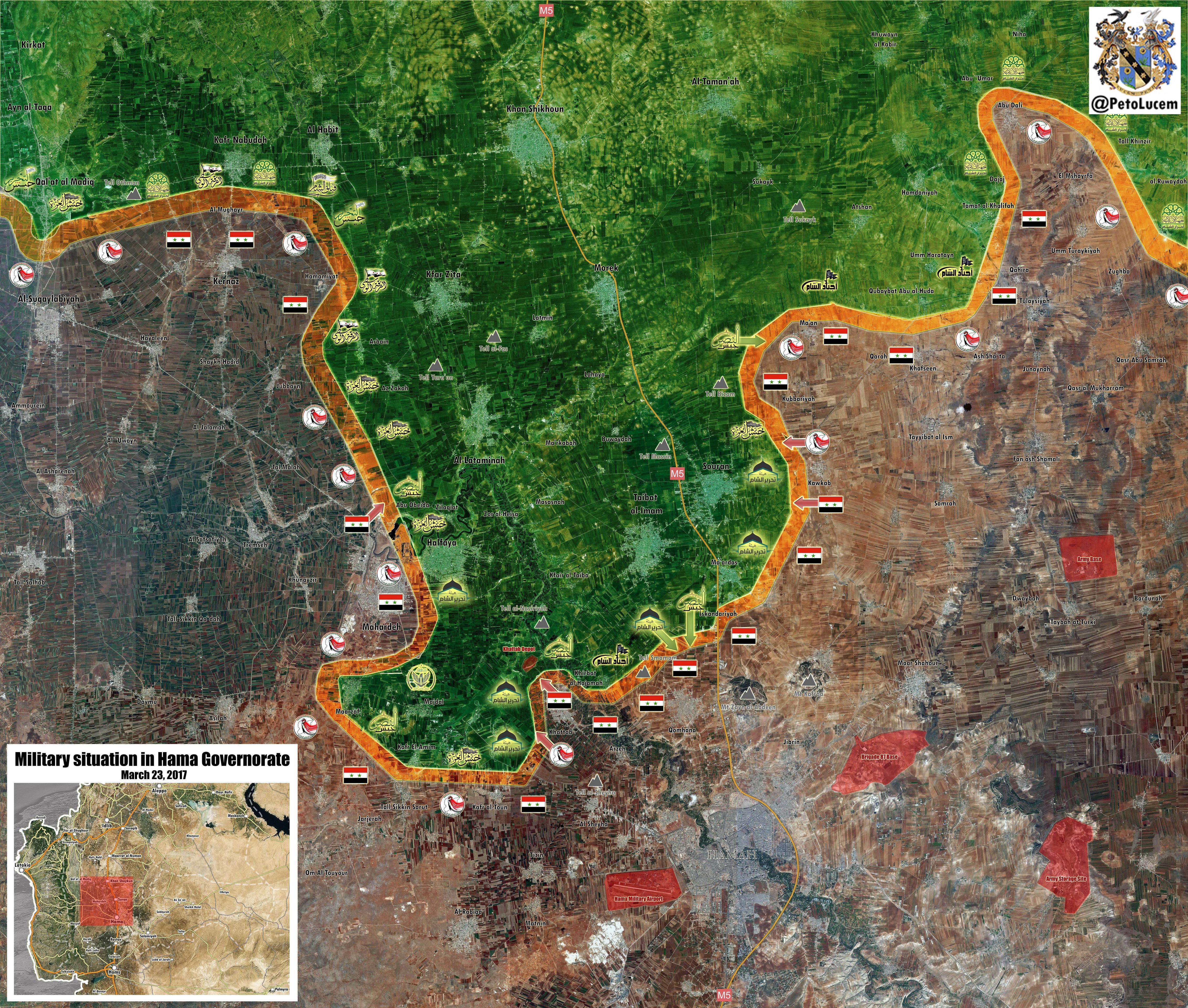 Syrian Army Regains Key Towns From Al-Qaeda-Linked Militants In Northern Hama