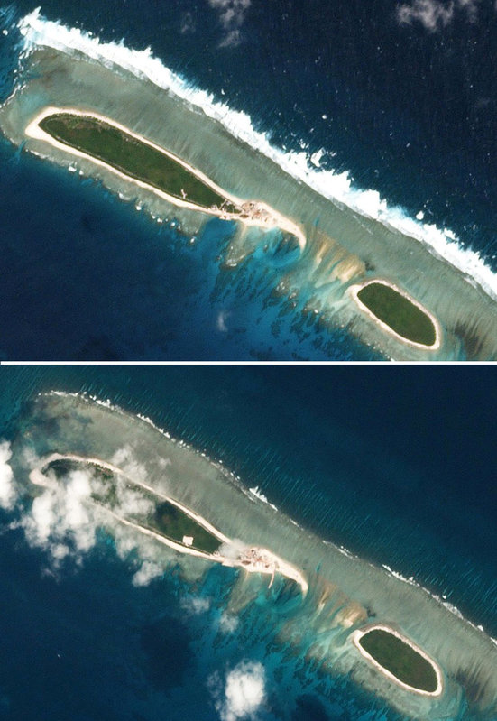 China Starts New Construction Work in Disputed South China Sea