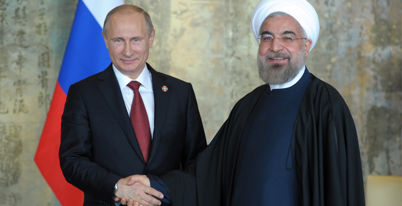 Russian and Iranian Presidents to Meet in Moscow Next Week