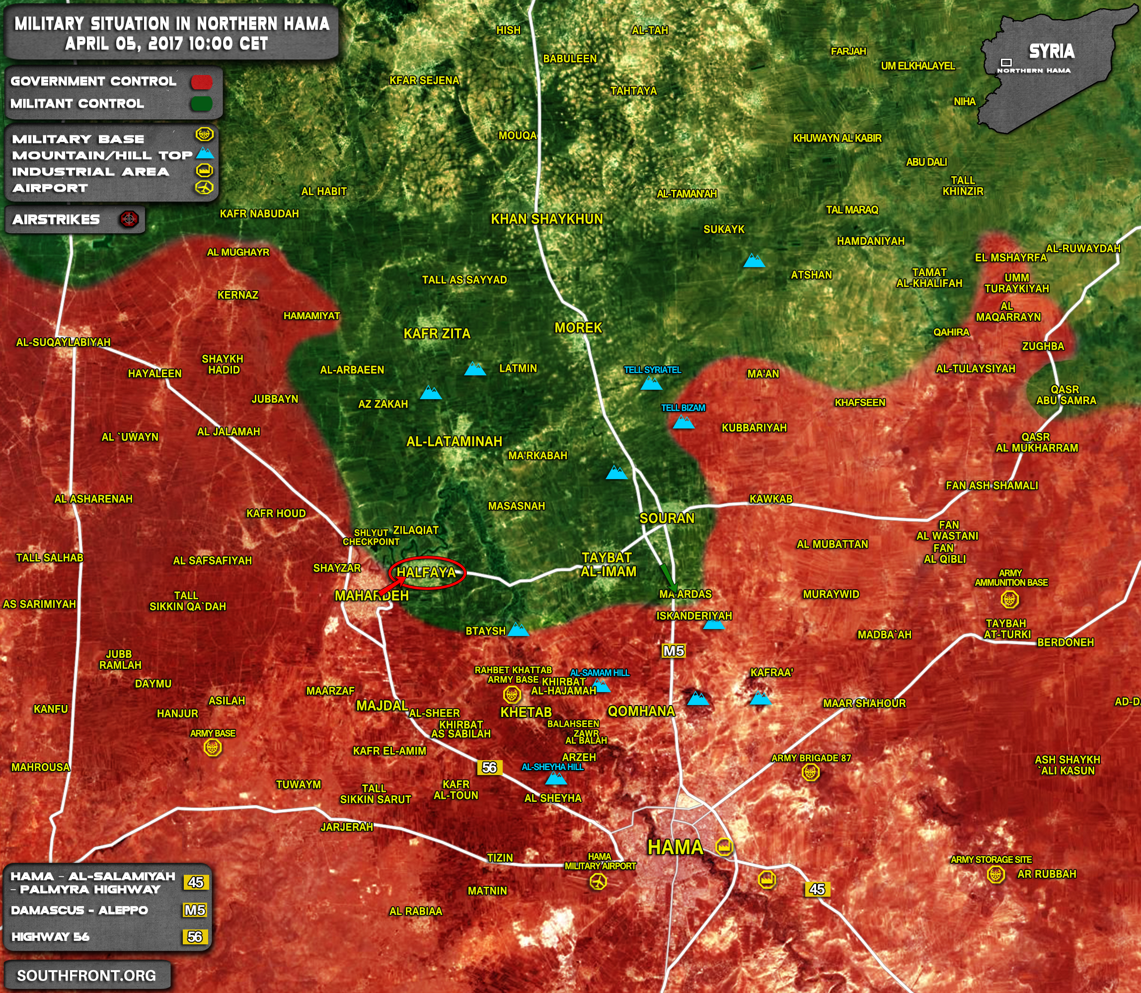 Pro-Government Forces Launch Surprise Counter-Attack In Northern Hama, Enter Strategic Town (Map, Videos)