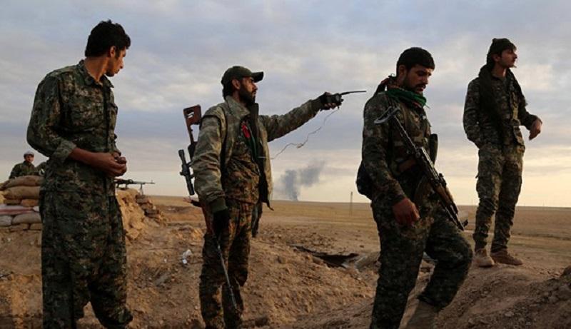 Syrian Democratic Force Storming Al-Sfsafeh Town East Of Al-Tabqah