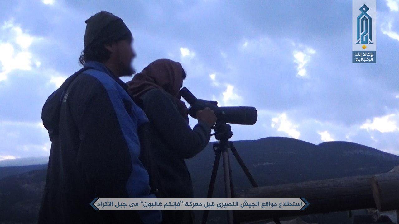 Hayat Tahrir al-Sham Declares Start Of Offensive Operation In Northern Latakia - Photo Report