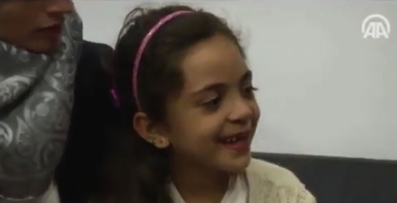'7YO Blogger from Aleppo' Praises US Strike on Syria