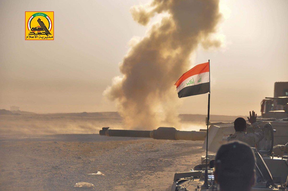 Iraqi PMU Repels Massive ISIS Offensive West Of Mosul