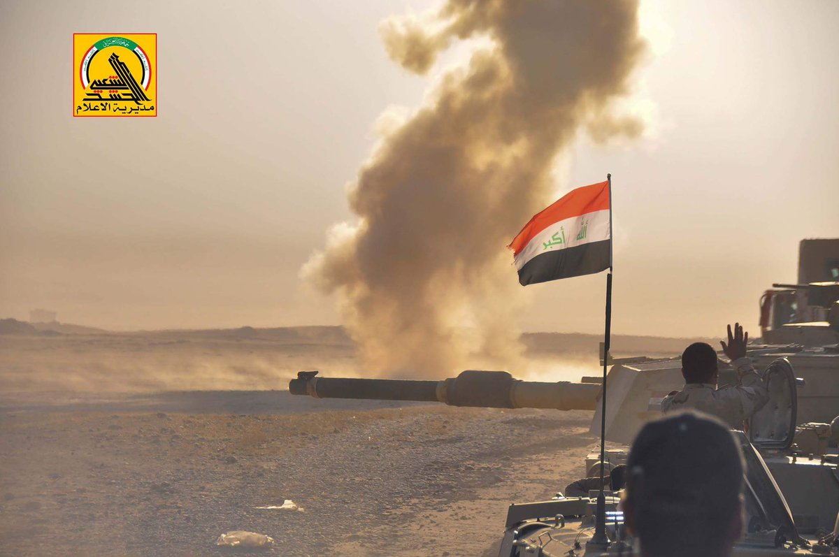 Iraqi PMU Repels Massive ISIS Offensive West Of Mosul