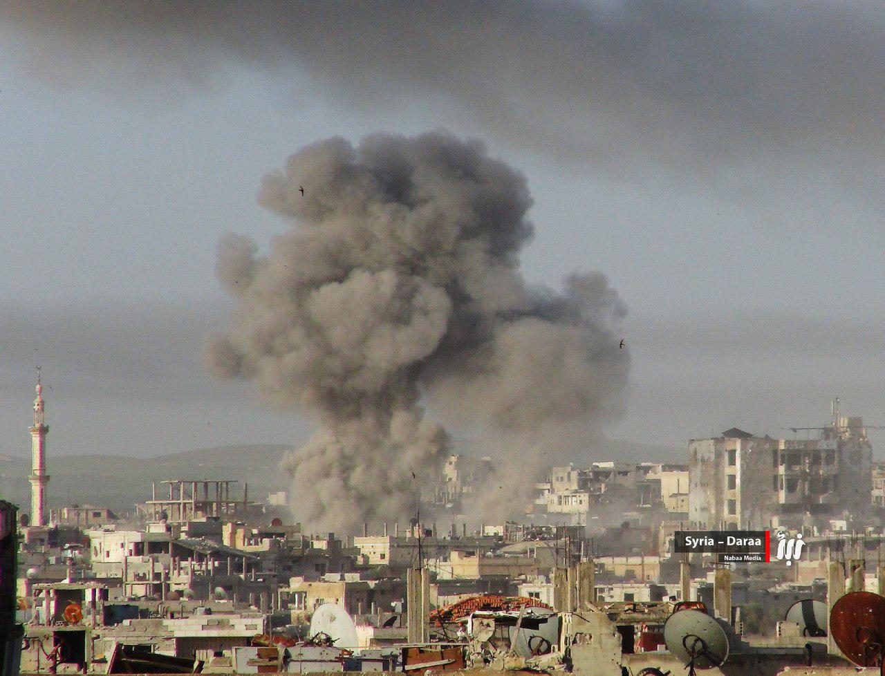 Hayat Tahrir al-Sham Claimed Seizing Important Areas In Dara'a (Photos)
