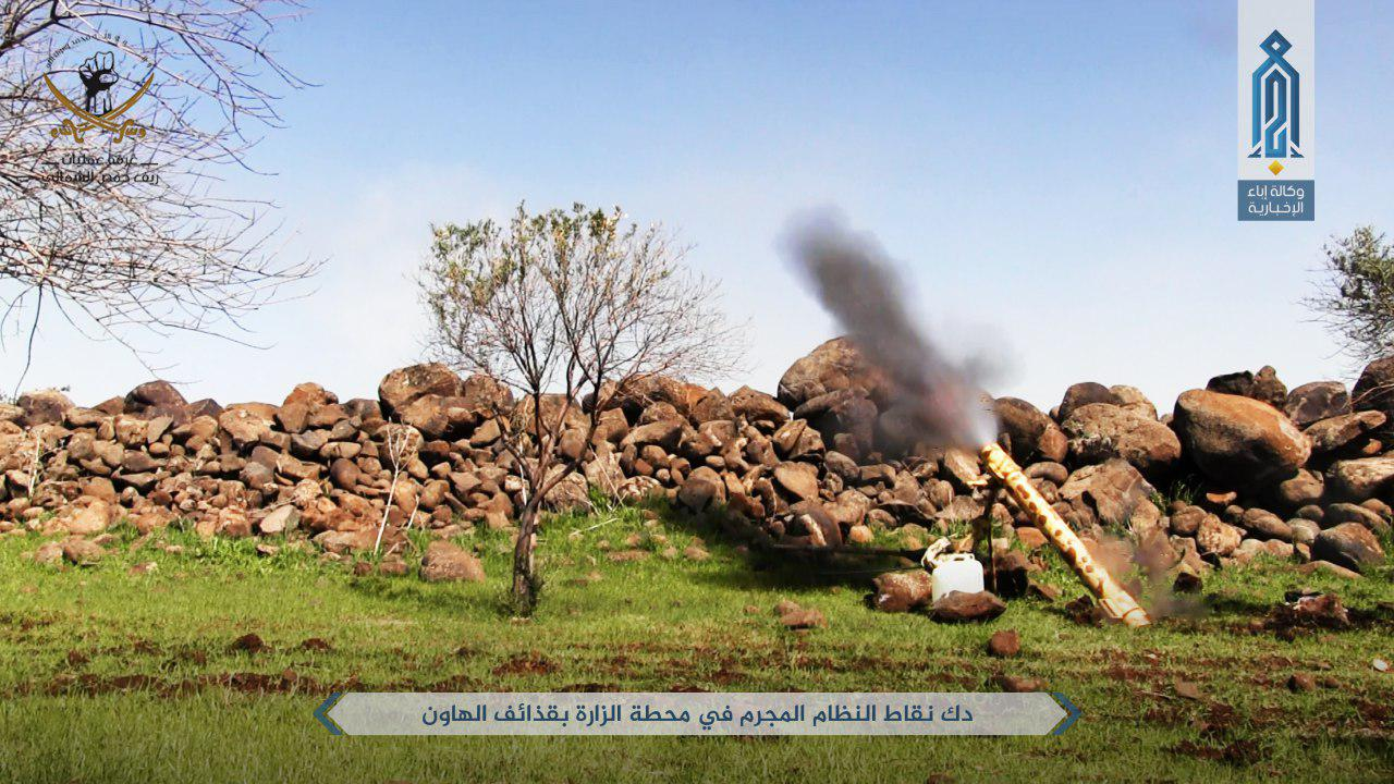 Hay'at Tahrir al-Sham Increases Shelling Against Military And Civilian Targets In Hama, Homs, and Idlib
