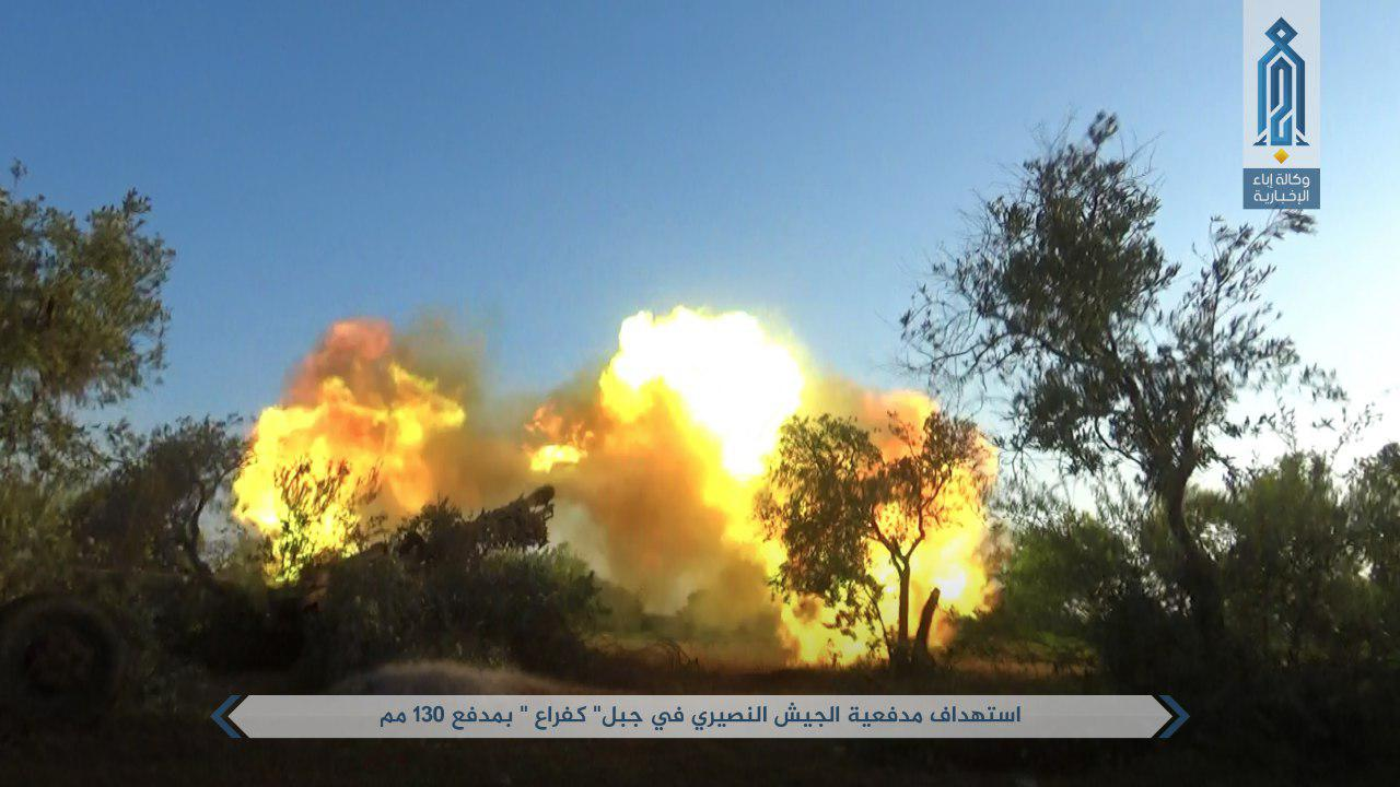 Syrian Army Sends Reinforcements To Hama's Front. Militants Continue Their Offensive