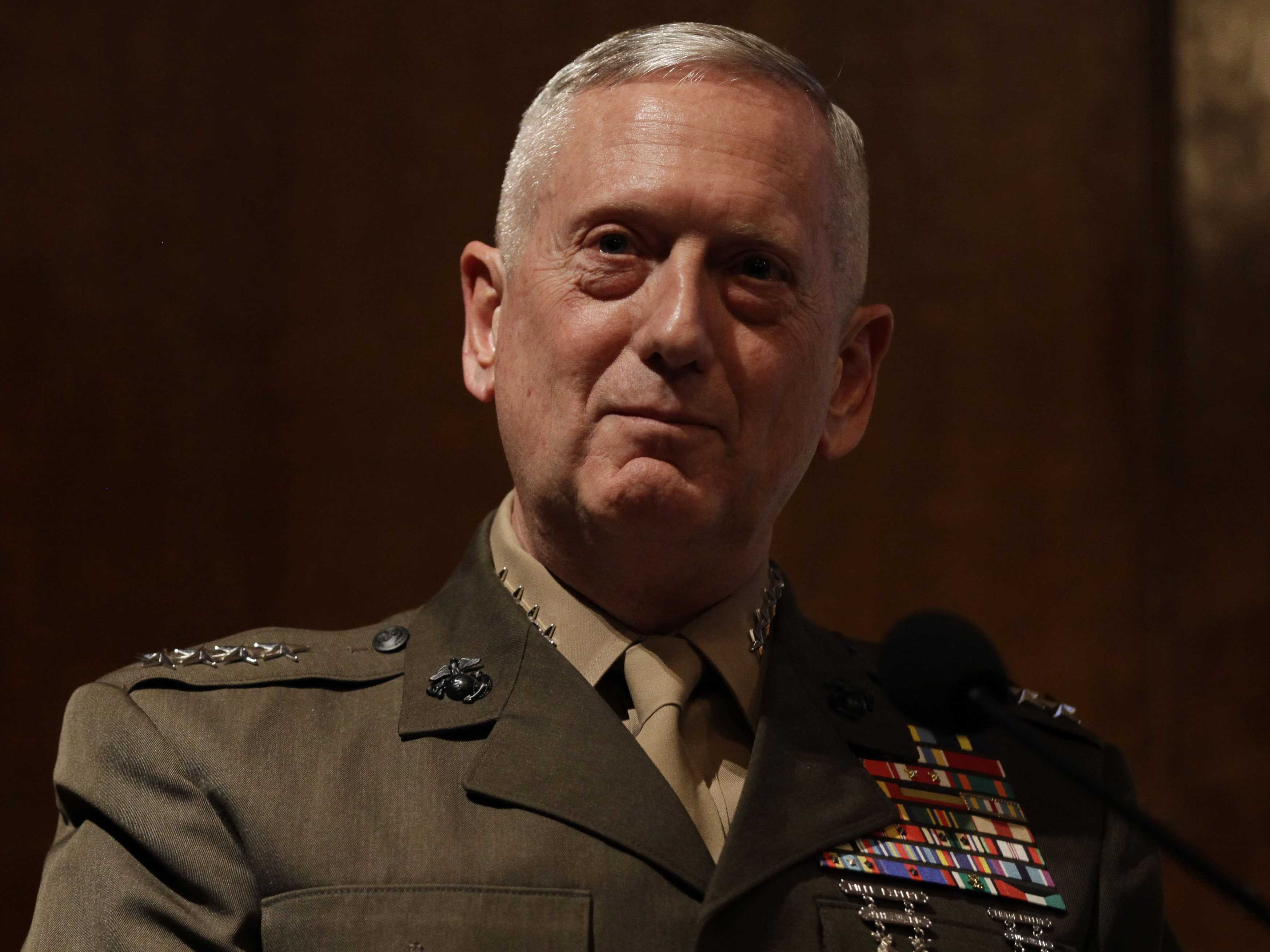 """US Defense Chief Mattis: Syria Will Pay Big Price If It Use """"Chemical Weapons"""" Again"""