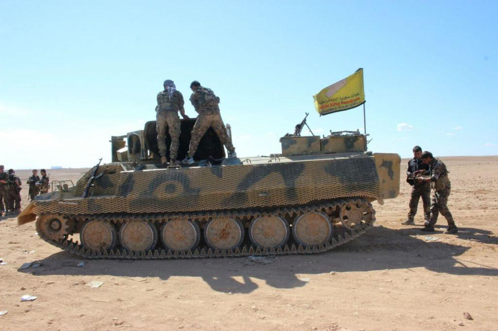 Syrian Democratic Forces Announced Start Of Fourth Phase Of Raqqa Operation