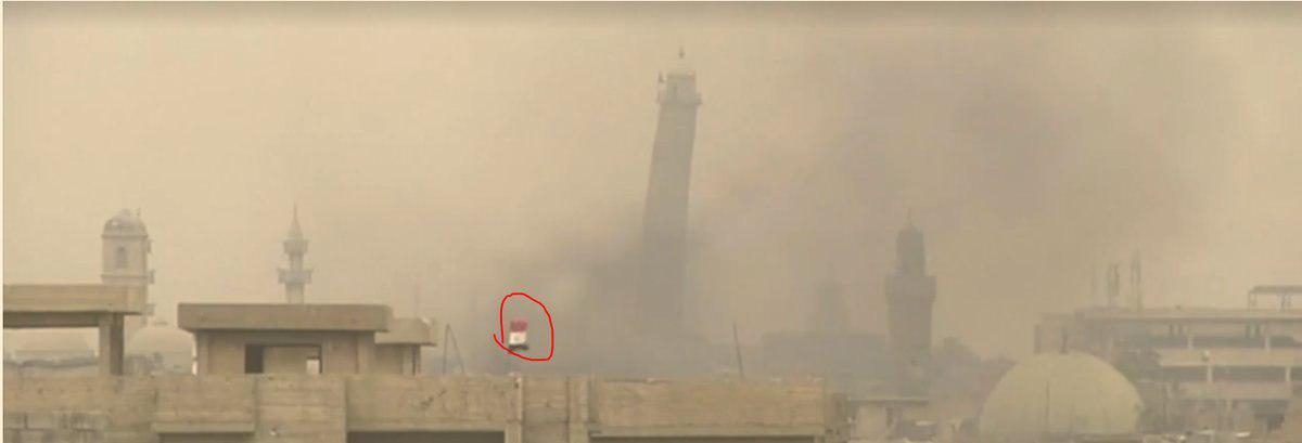Iraqi Army Close To Liberation Of Al-Nouri Mosque In Mosul