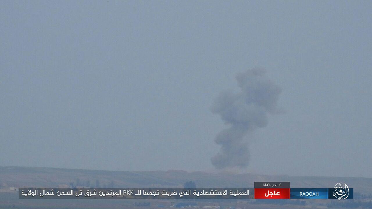 Syrian Democratic Forces Capture Kabash GharbiIn Raqqah Countryside