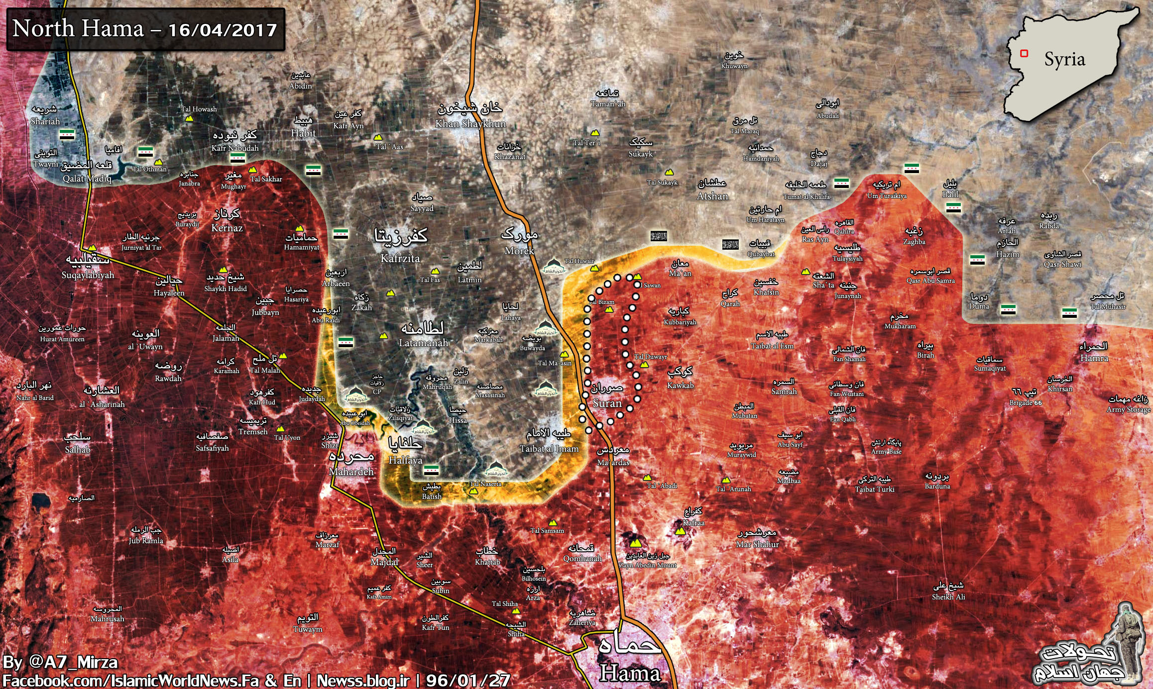 Government Forces Developing Momentum In Northern Hama