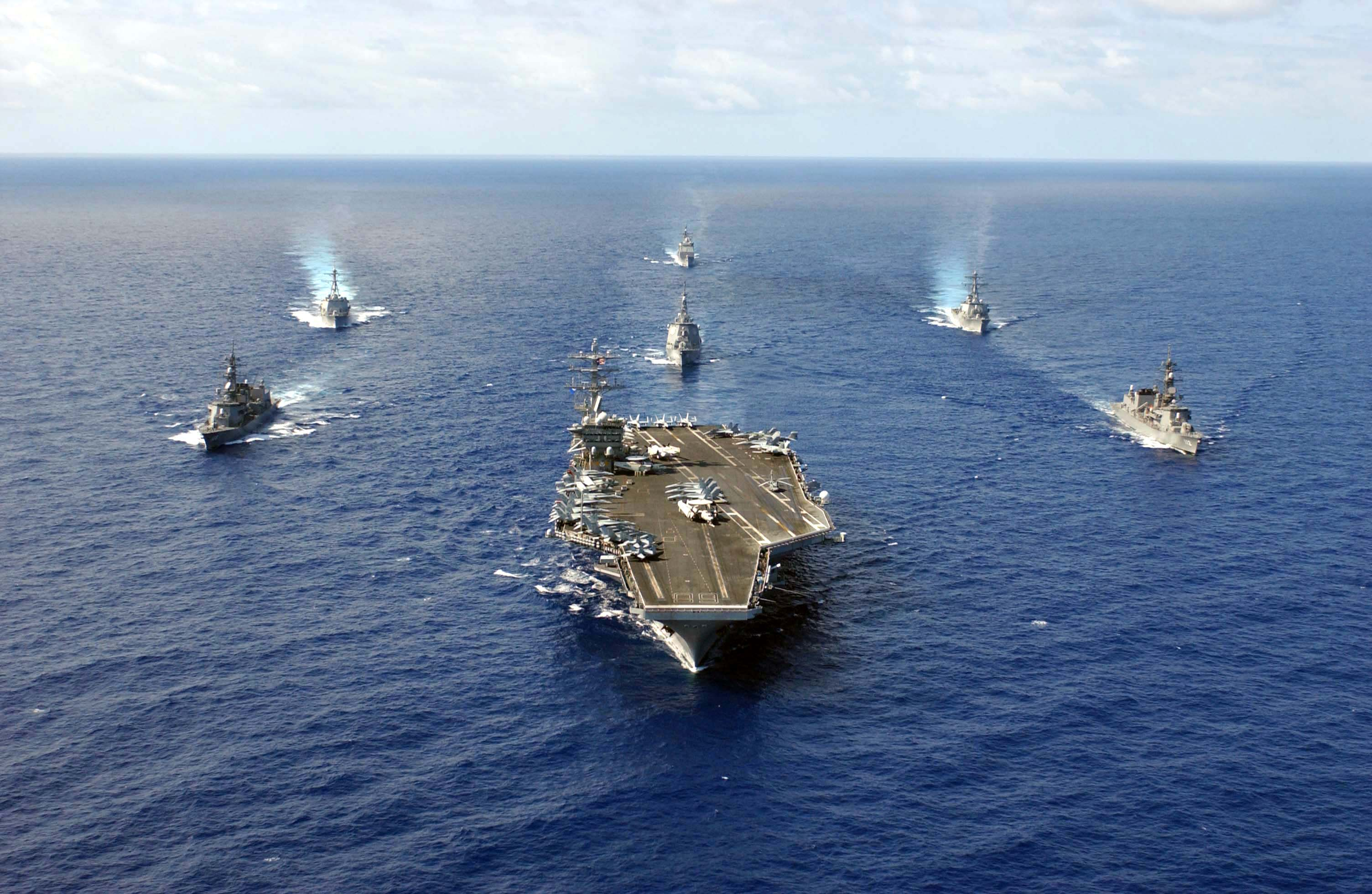 US Deploys Two More Aircraft Carrier Strike Groups Toward Korean Peninsula: Media