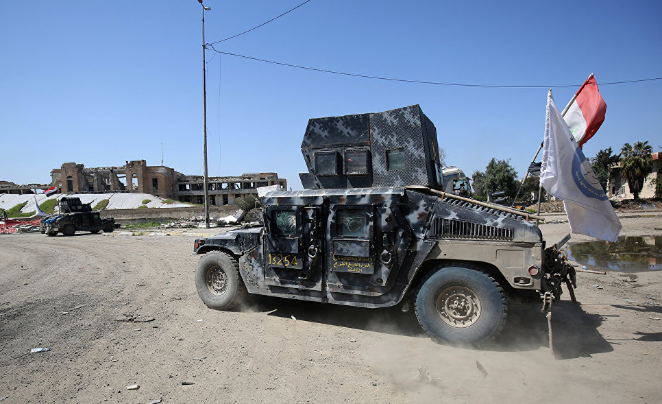 """Iraqi Forces Seize ISIS """"Health Department"""" In Western Mosul"""
