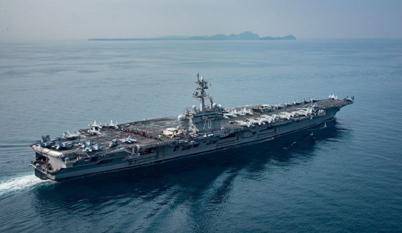 USS Carl Vinson Was Not En Route To Korean Peninsula When Defense Officials Claimed It. Where Is It Now?