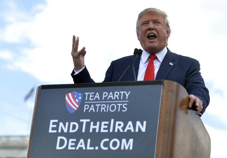 "Another Flip? Trump Tells Congress Iran Compliant With ""Disastrous"" Nuclear Deal"